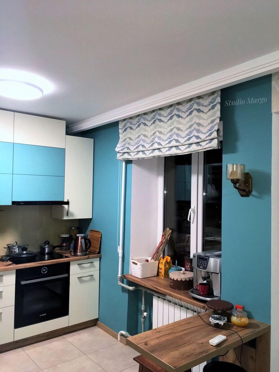 пошить шторы на кухню
